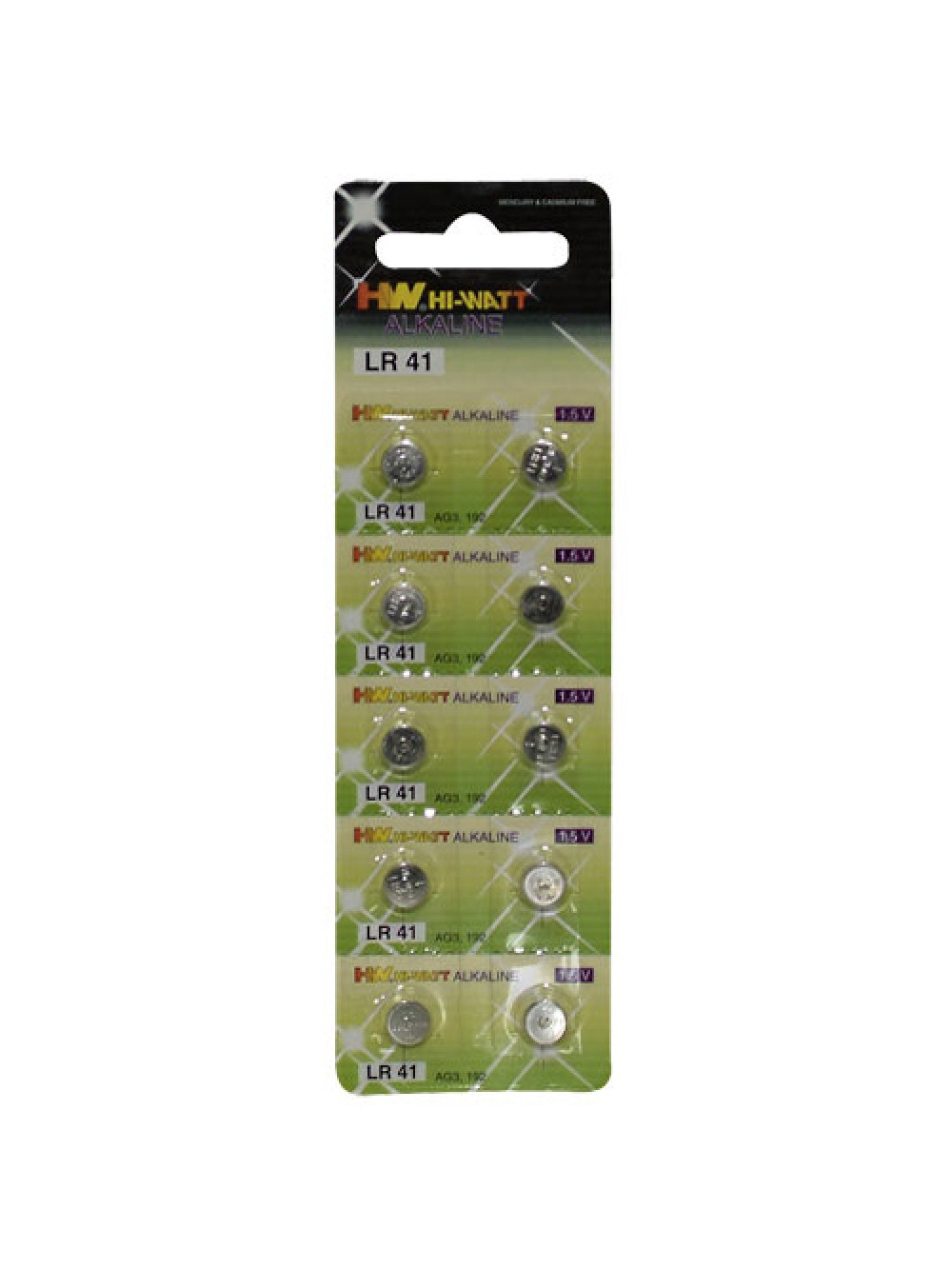 Button Cell 10-pcs LR41 4024144740673