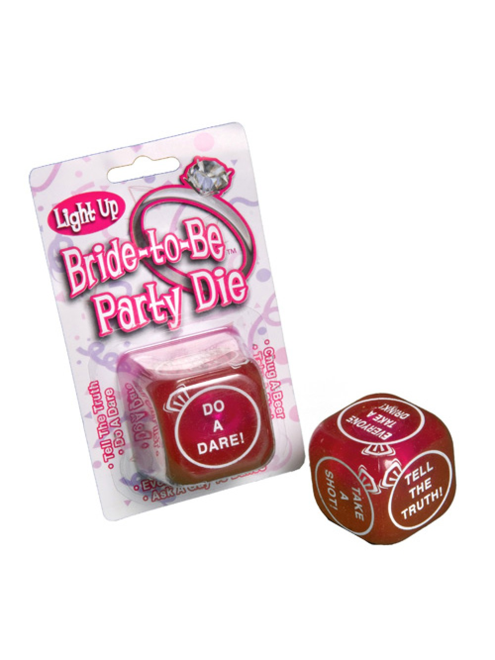 Flashing Bride To Be Party Dice 176554005652