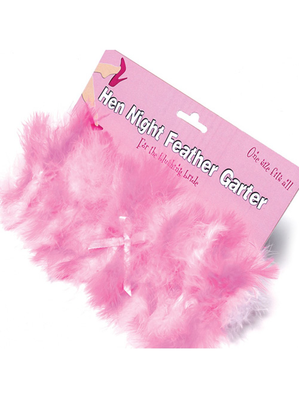 Hen Night Feather Garter 5022052025508