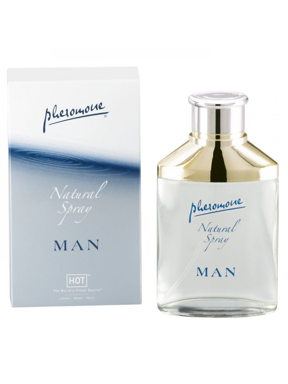 HOT MAN PHEROMON NATURAL SPRAY 50 ML 4042342000467