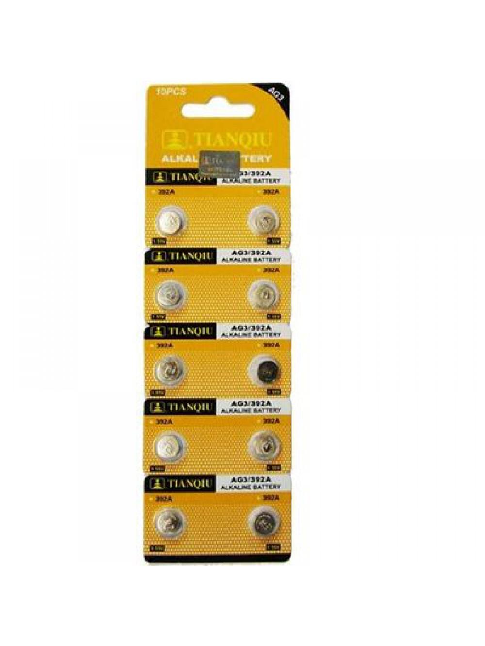 LR41 (AG3) 1,5V PACK 10 PILAS 8432011601426