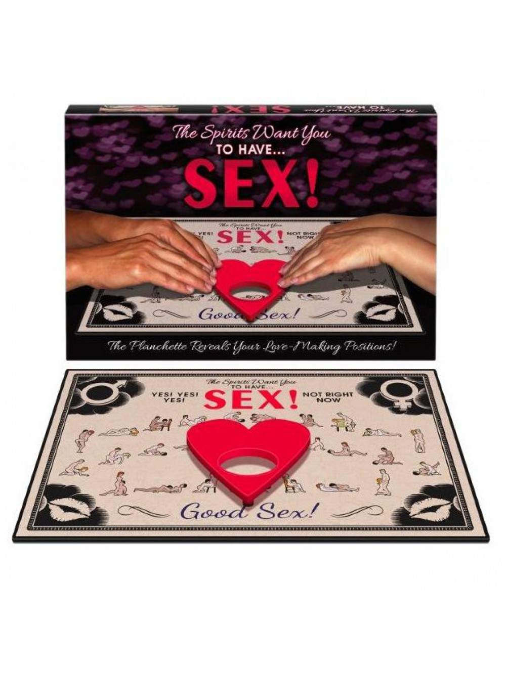 THE SPIRITS WANT YOU TO HAVE SEX 825156108475