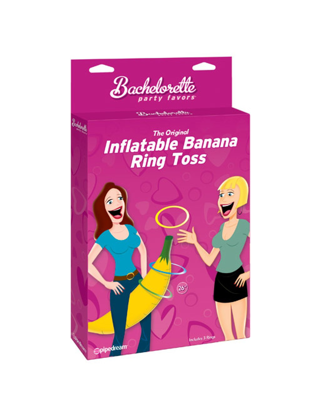 Inflatable Banana Ring Toss 603912282061