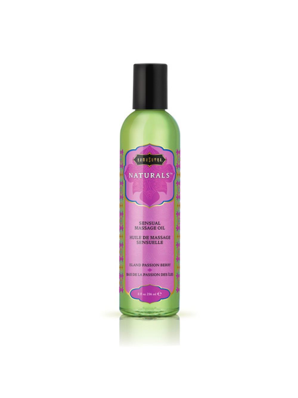Kama Sutra Naturals Massage Oil Island Passion Berry 739122102452