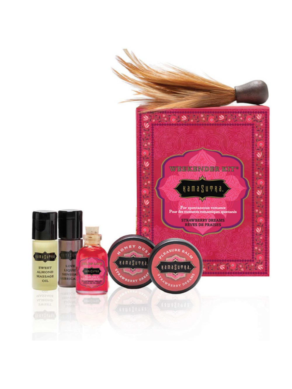 Kamasutra Weekender Kit Strawberry 739122000987