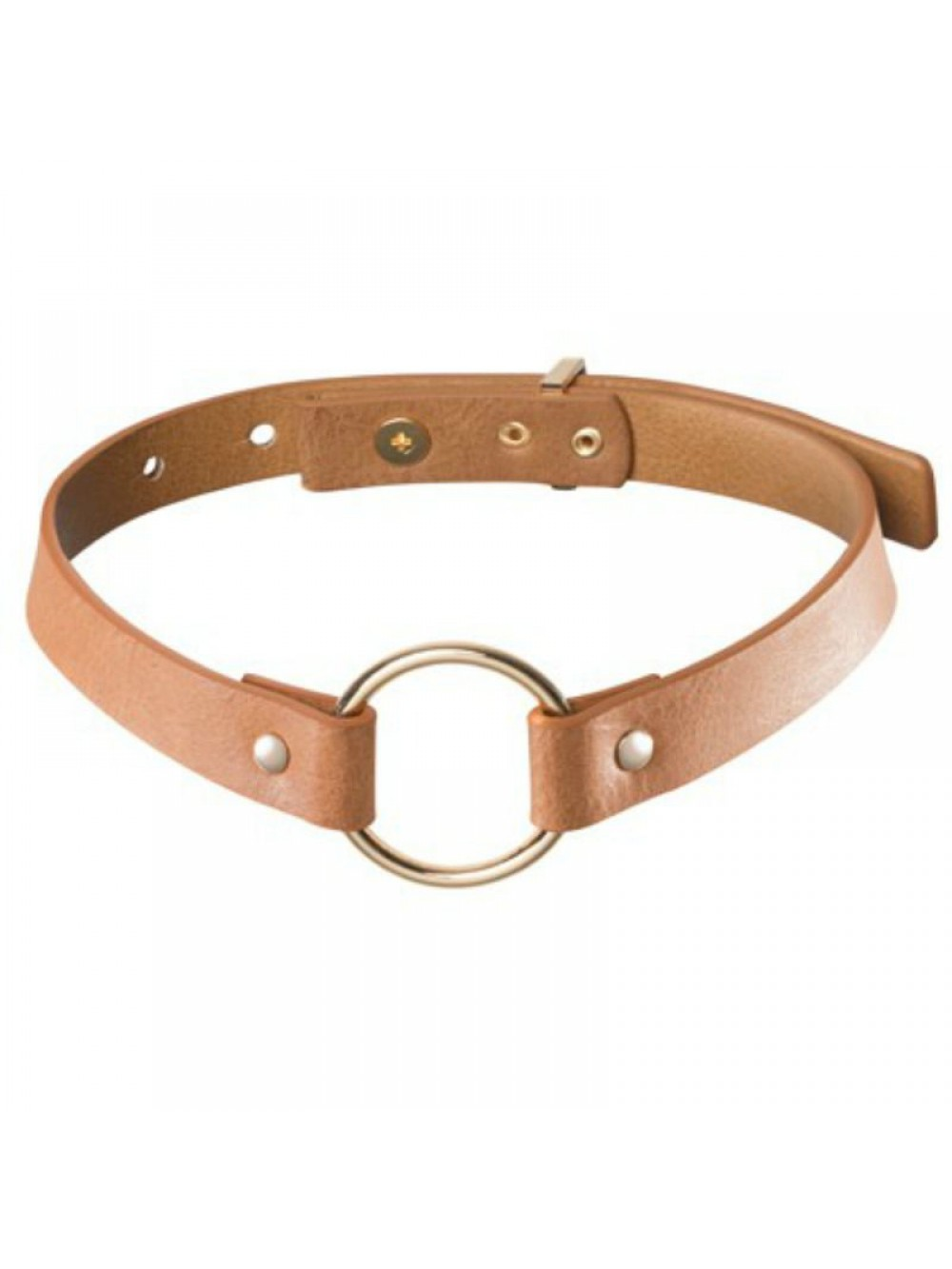 MAZE - SINGLE CHOKER BROWN 8436562011161