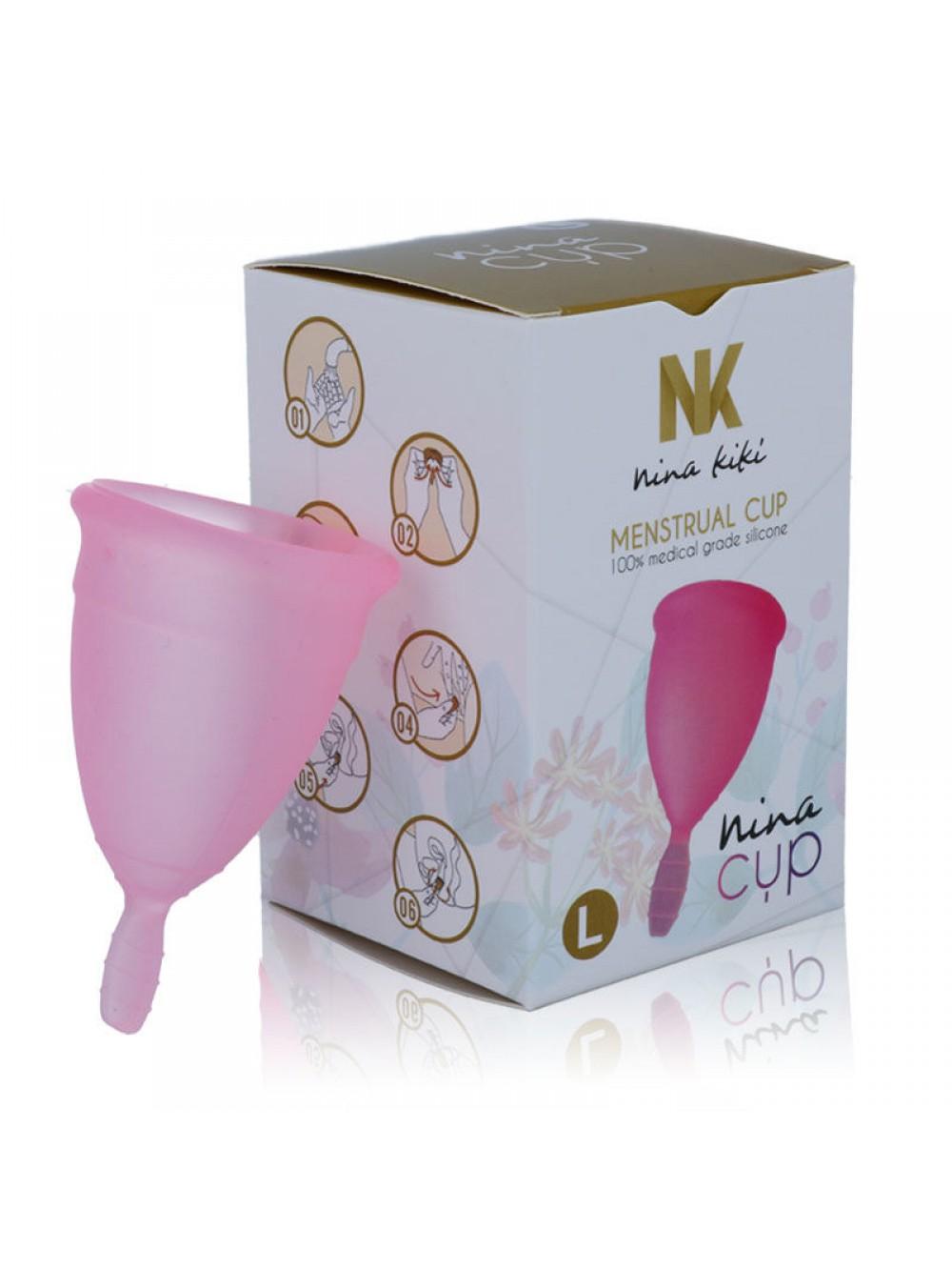 NINA CUP MENSTRUAL CUP SIZE PINK L 8425402155219