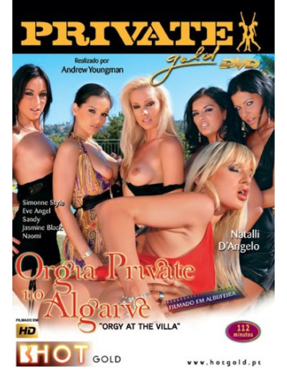 ORGY AT THE VILLA BLU-RAY