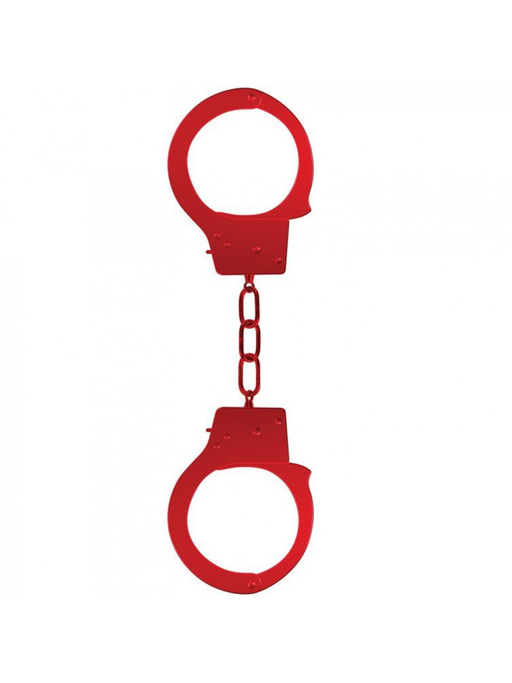 OUCH BEGINNER'S HANDCUFFS RED 8714273074041