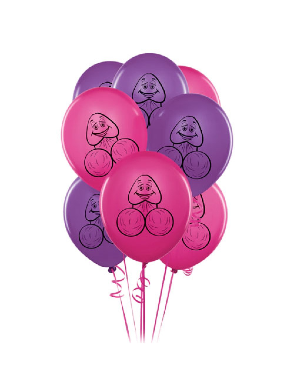 8 Pecker Party Balloons 603912275490