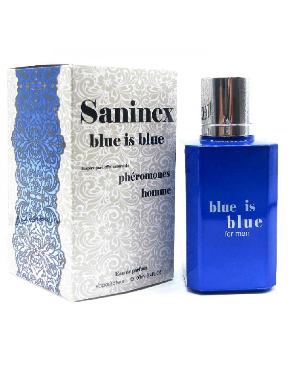 SANINEX SCENT WITH PHEROMONES FOR MEN BLUE IS BLUE 8984686901979