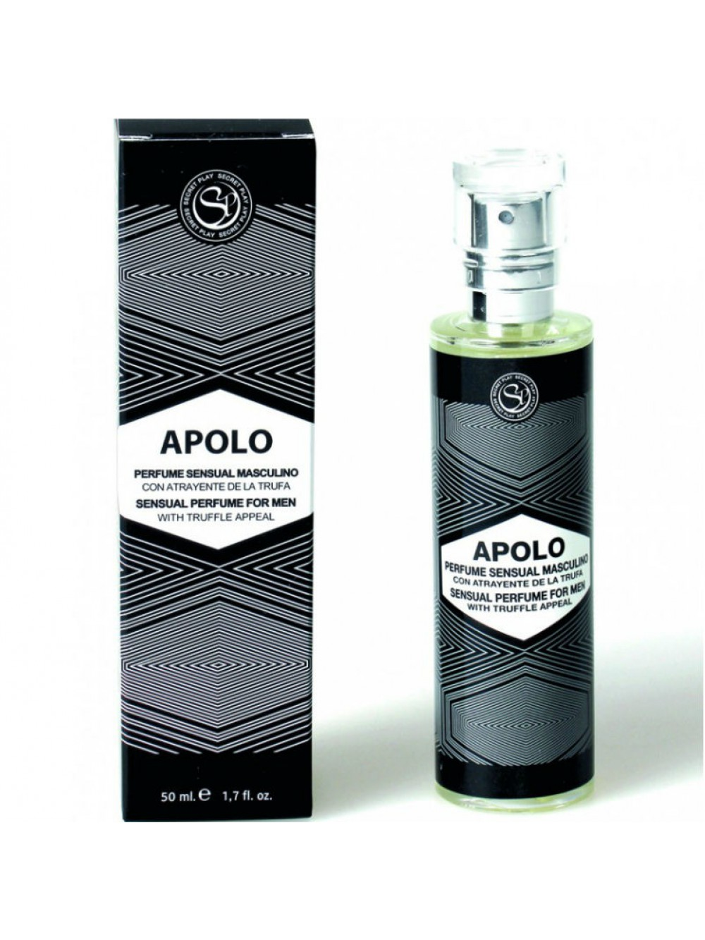SECRET PLAY APOLO PERFUME DE HOMBRE CON FEROMONAS 8435097831732