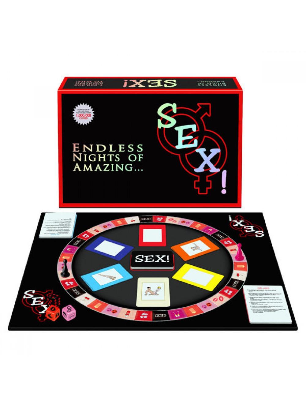SEX BOARD GAME. 825156107263