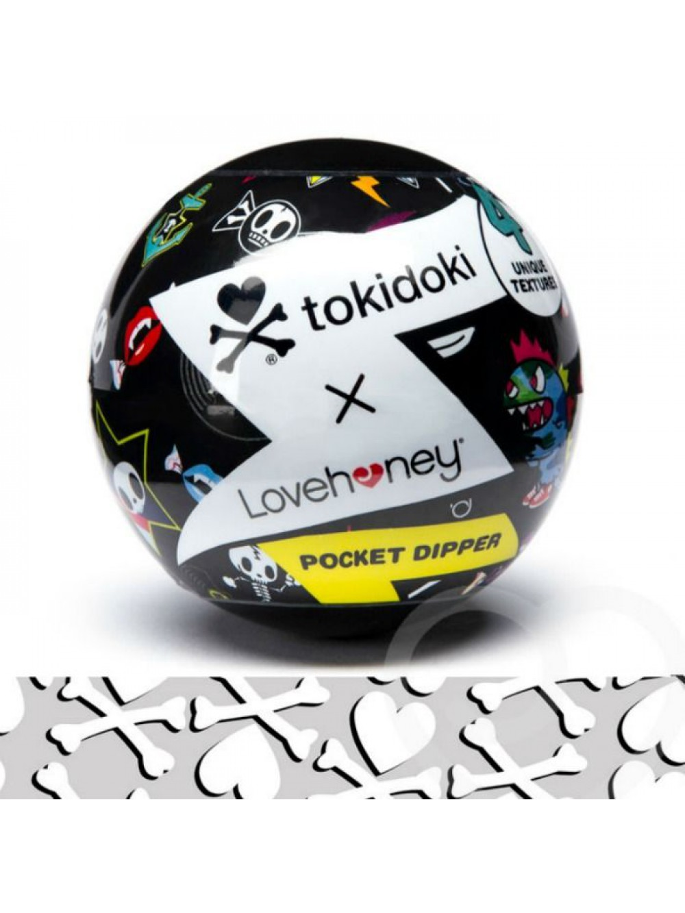 TOKIDOKI TEXTURED PLEASURE CUP CROSSBONES 5060481965033