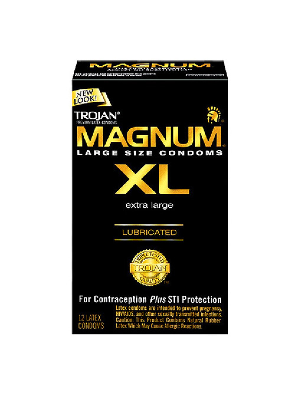 Trojan Magnum XL x 12 Condoms 022600647140