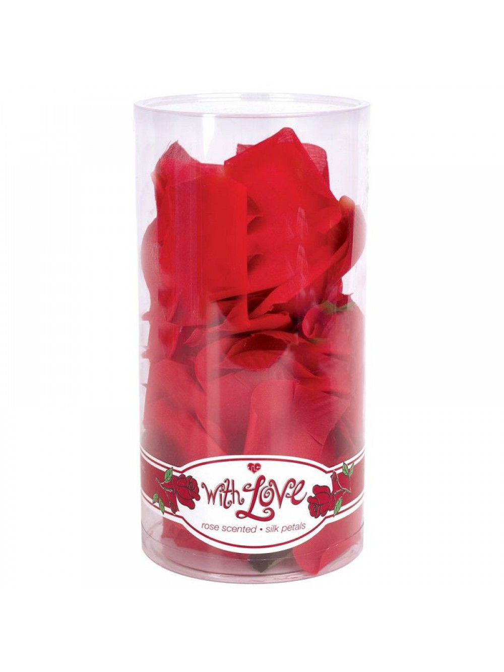 WITH LOVE, ROSE SCENTED SILK PETALS 051021146840