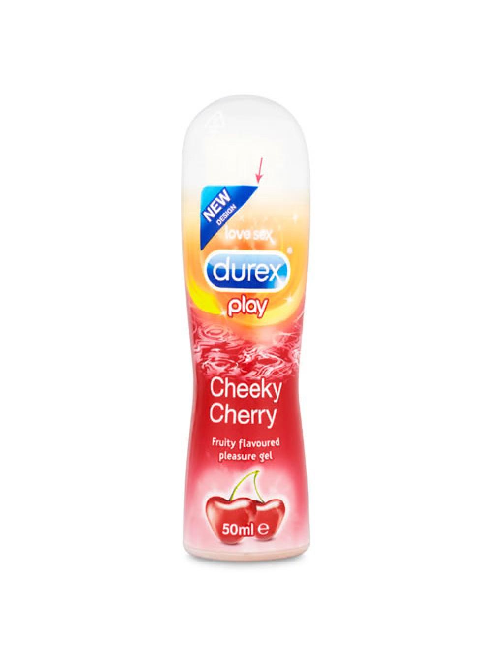 Durex Play Cherry Lubricant 50mls