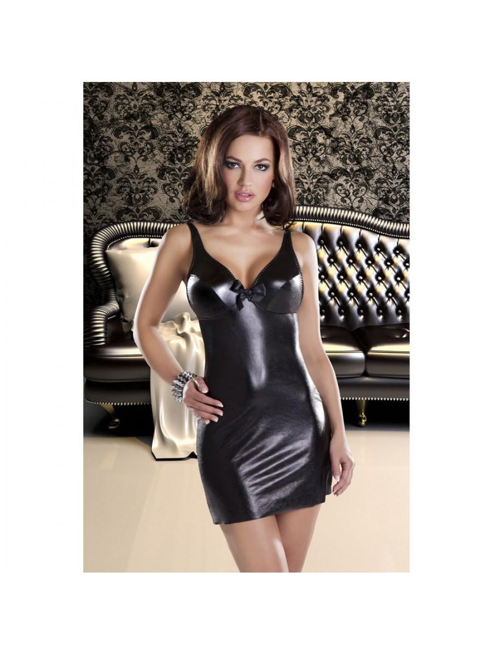 ETNA DRESS BLACK SEXY AVANUA L/XL