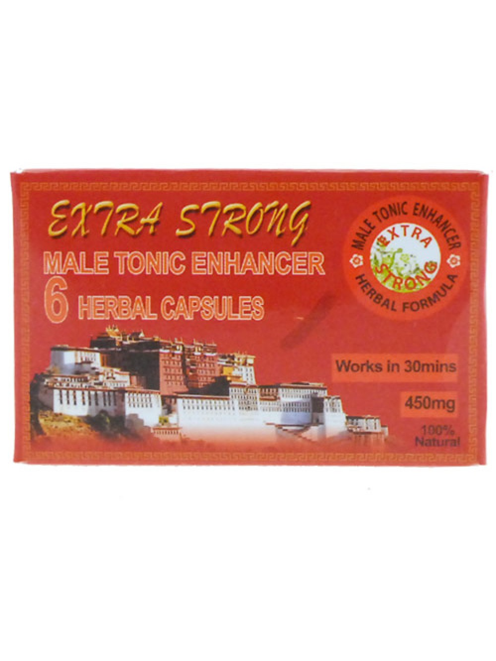 Extra Strong Male Tonic Enhancer 6 Herbal Capsules