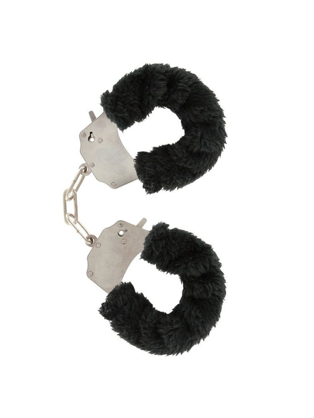 FURRY FUN CUFFS LECHEROUS BLACK