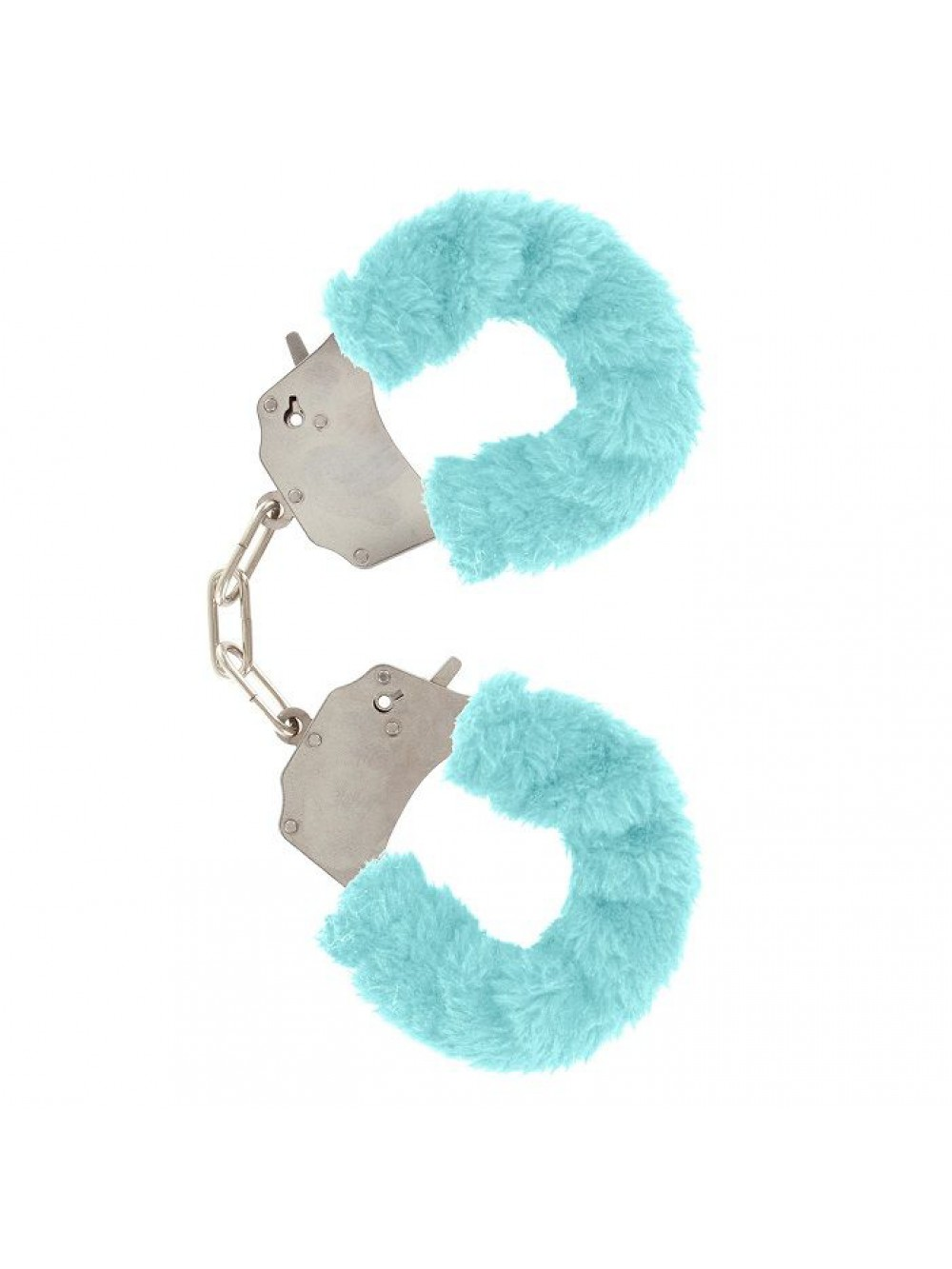 FURRY FUN CUFFS LECHEROUS BLUE