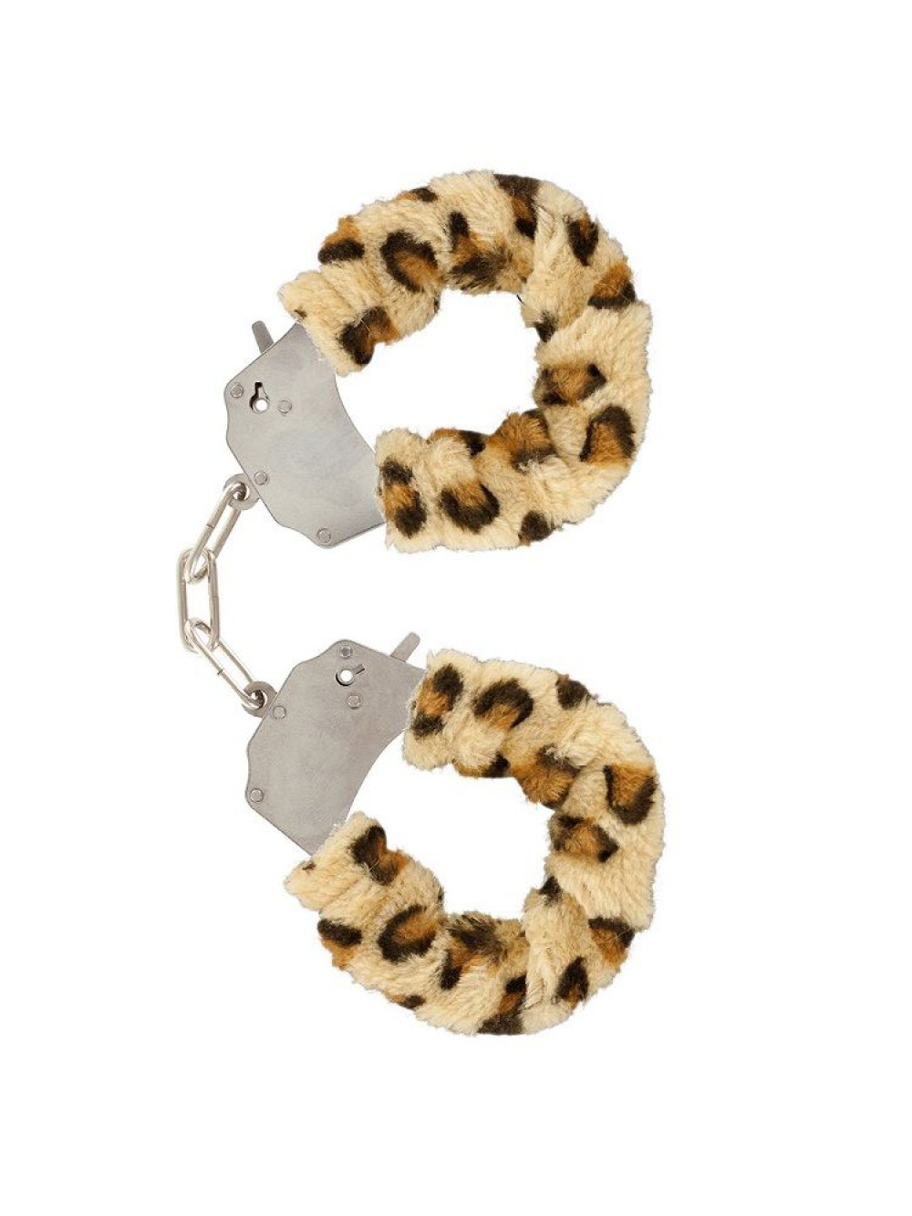 FURRY FUN CUFFS LECHEROUS LEOPARD