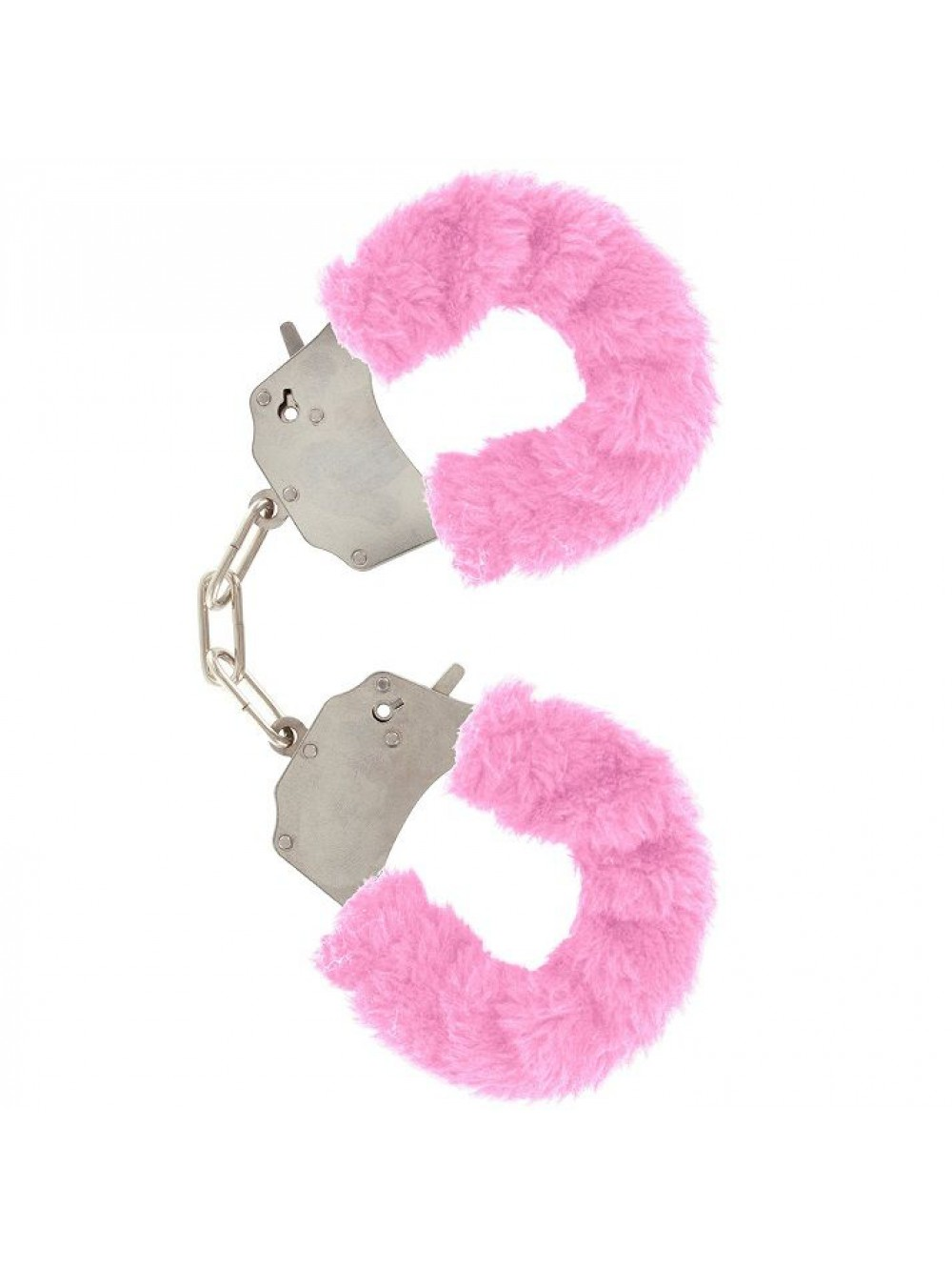 FURRY FUN CUFFS LECHEROUS PINK