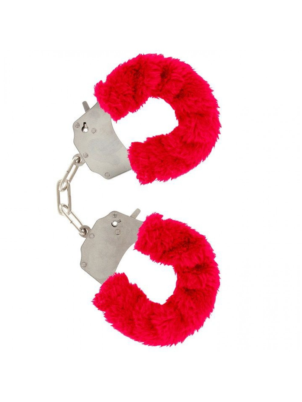 FURRY FUN CUFFS LECHEROUS RED