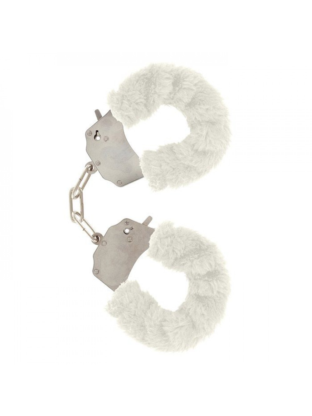 FURRY FUN CUFFS LECHEROUS WHITE