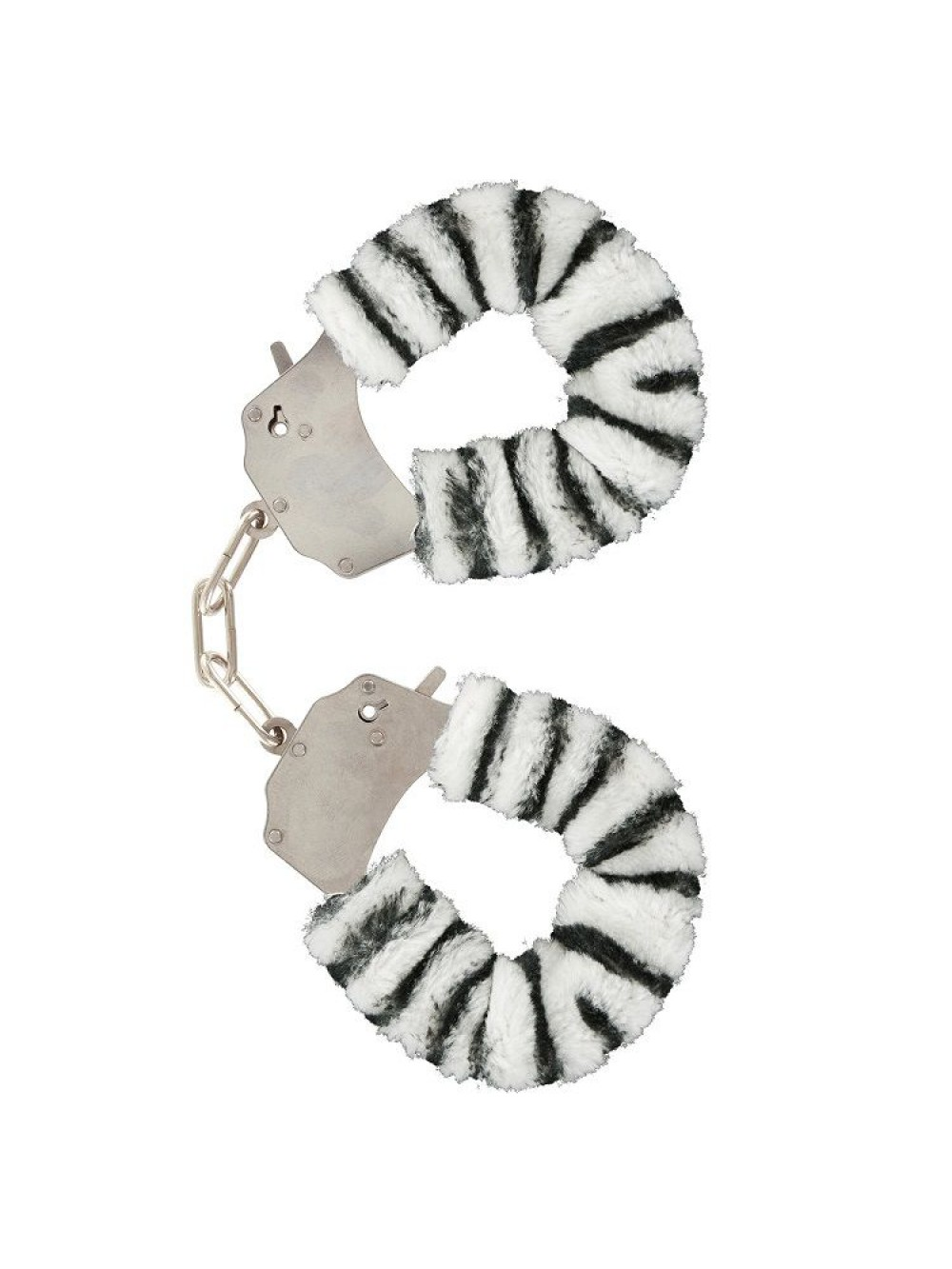 FURRY FUN CUFFS LECHEROUS ZEBRA