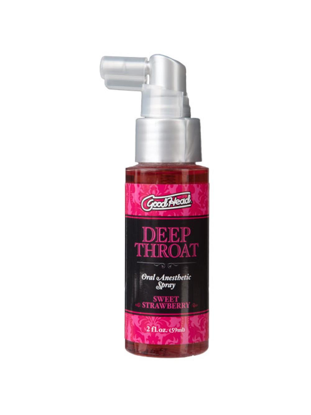 Good Head Deep Throat Spray Strawberry