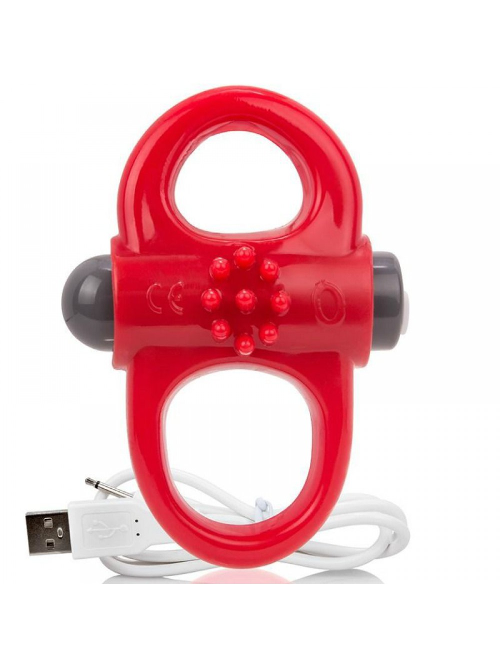 SCREAMING O RECHARGEABLE AND VIBRATING RING YOGA RED