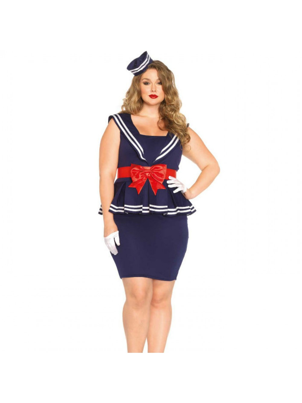 LEG AVENUE AYE AYE SAILOR AMY PLUS SIZE 1X/2X