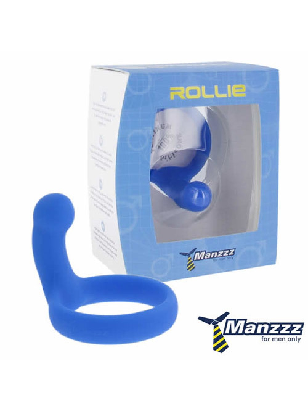 ManzzzToys - Rollie Blue Testical Ring