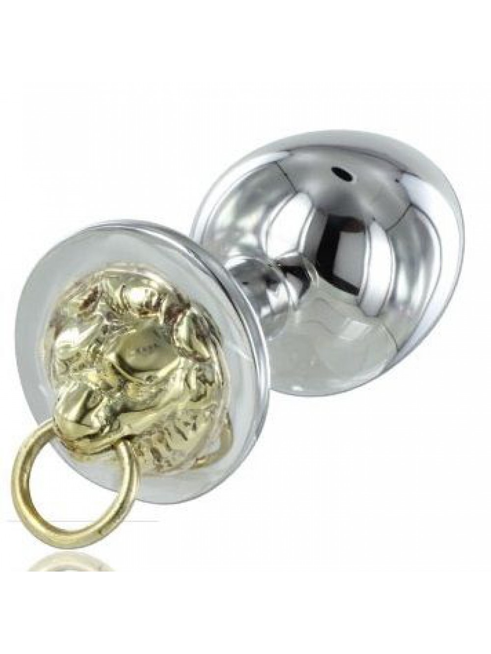 METALHARD ANAL PLUG STAINLESS TIGER