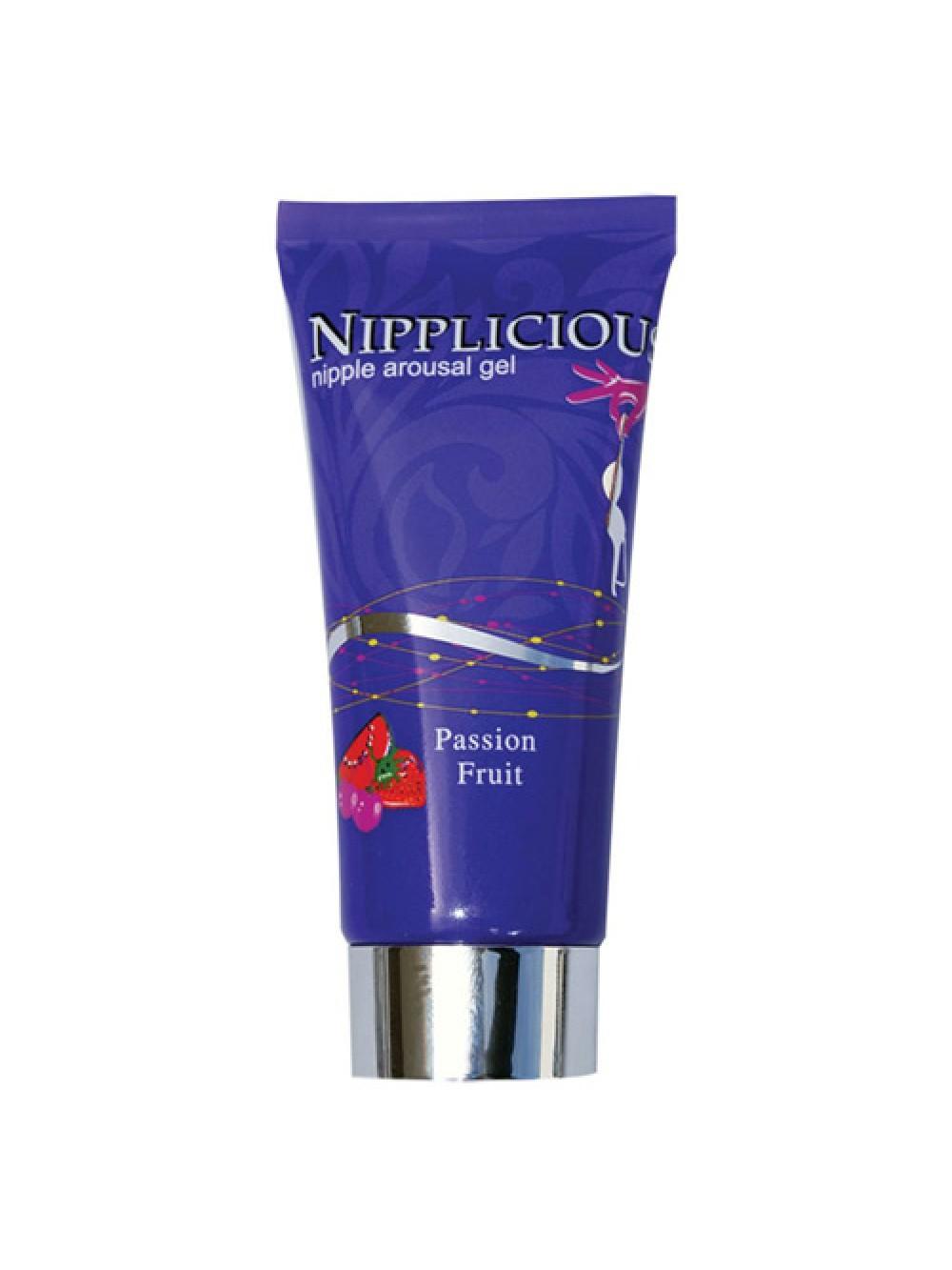 Nipplicious Nipple Arousal Gel Passion Fruit