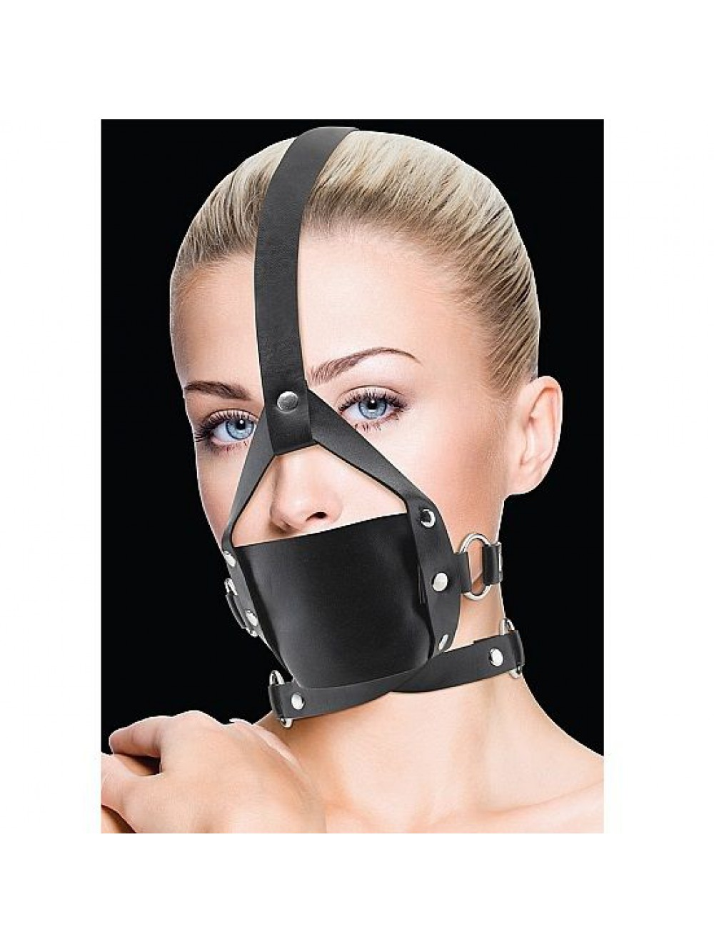 OUCH LEATHER MOUTH GAG