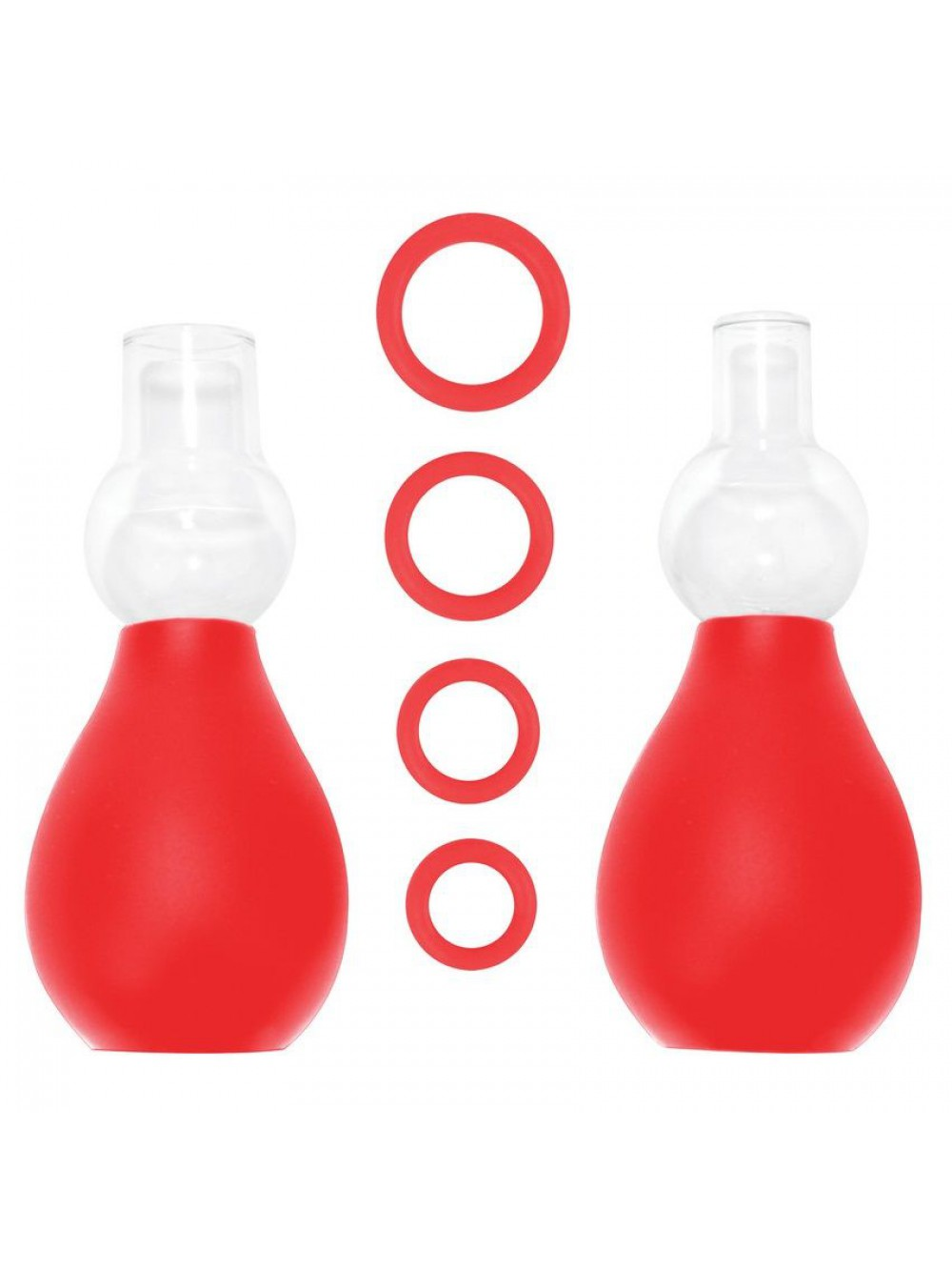 OUCH NIPPLE ERECTOR SET RED