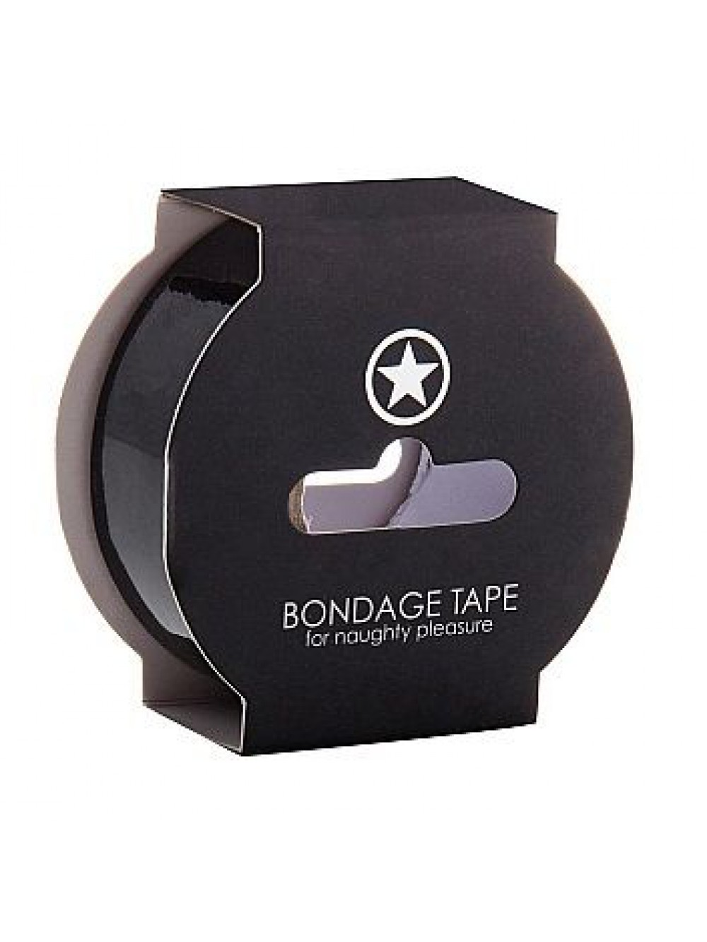 OUCH NON STICKY BONDAGE TAPE BLACK