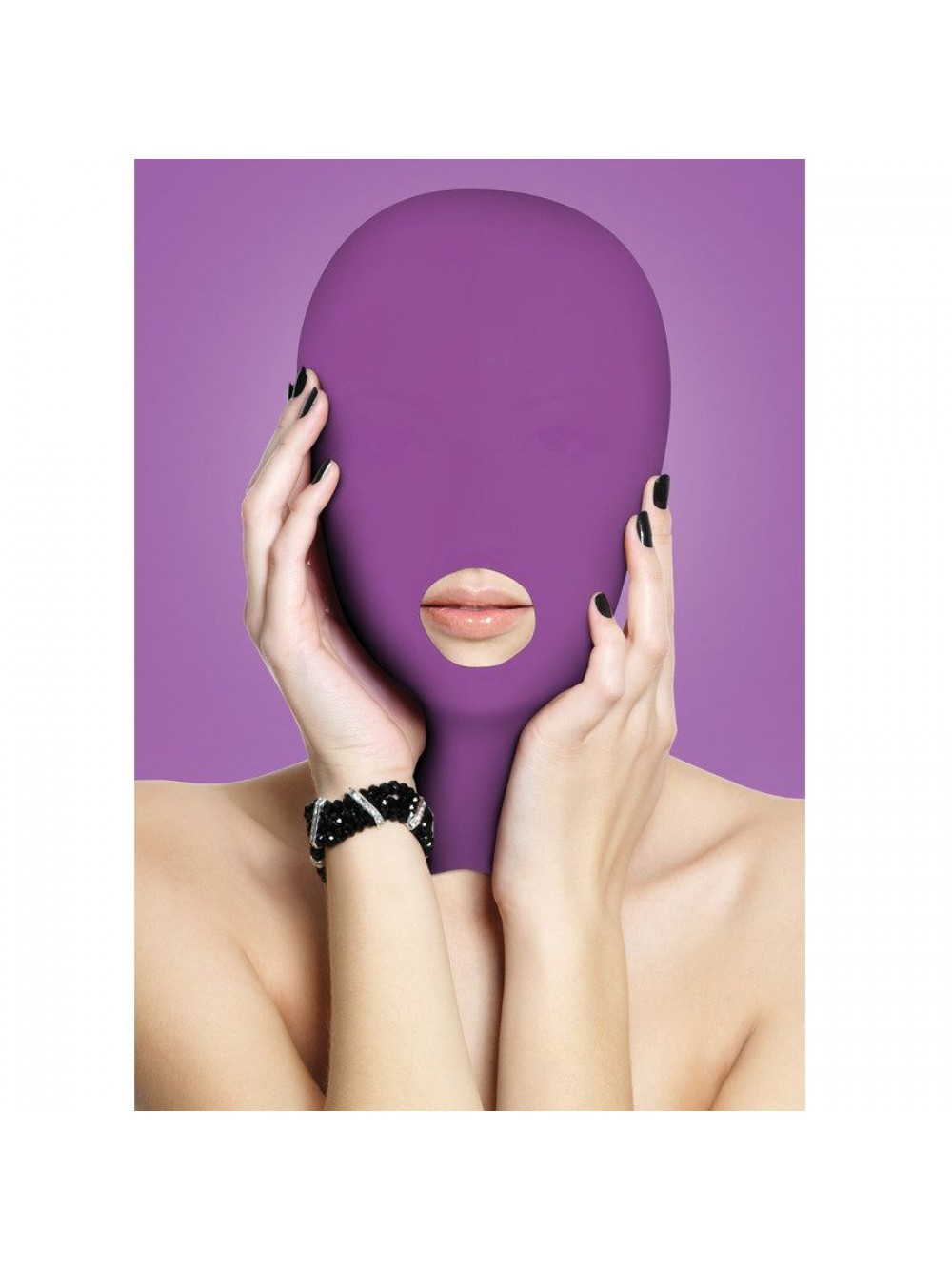 OUCH SUBMISSION MASK PURPLE