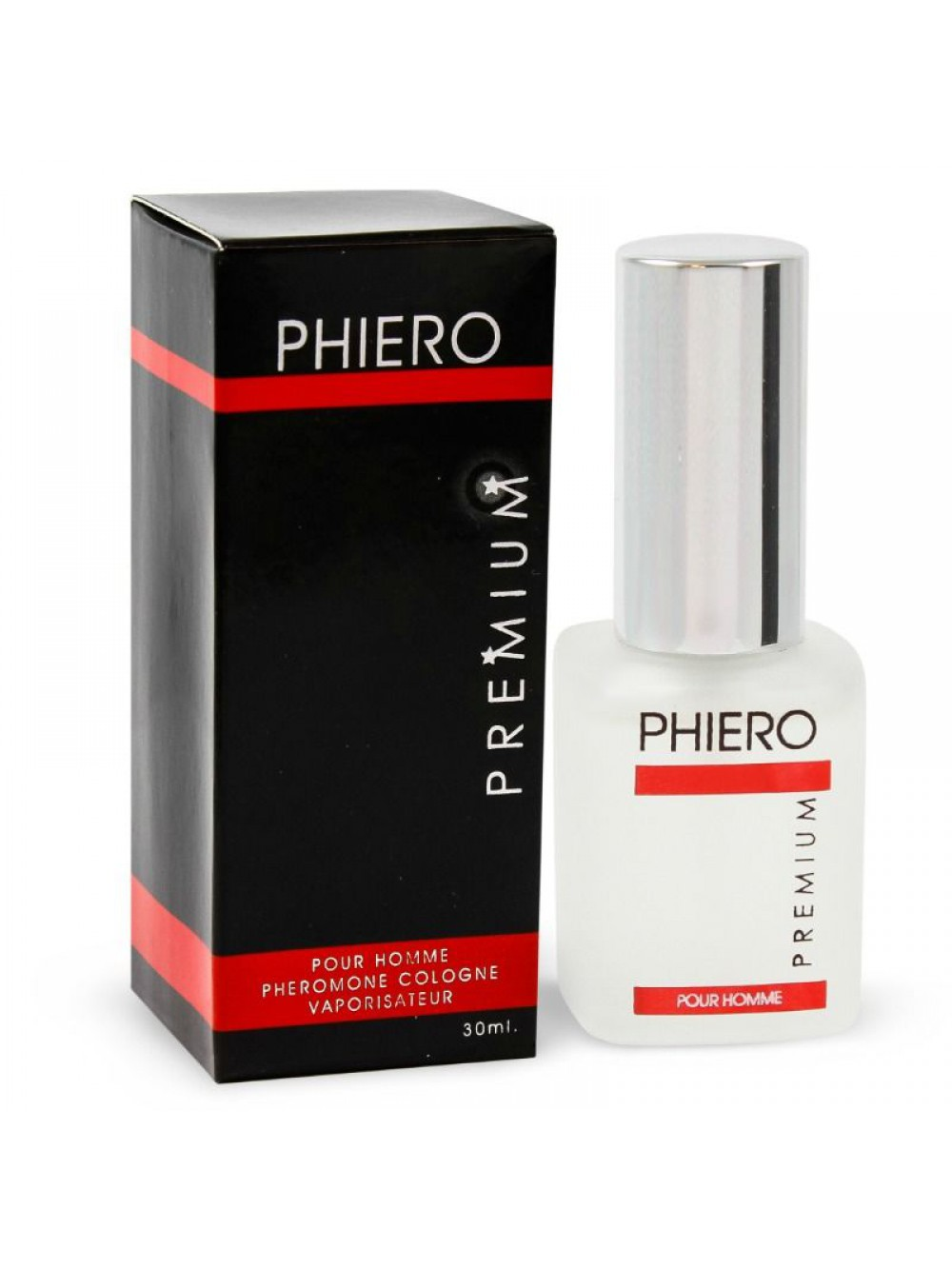 PHIERO PREMIUM. PERFUME WITH PHEROMONES FOR MEN