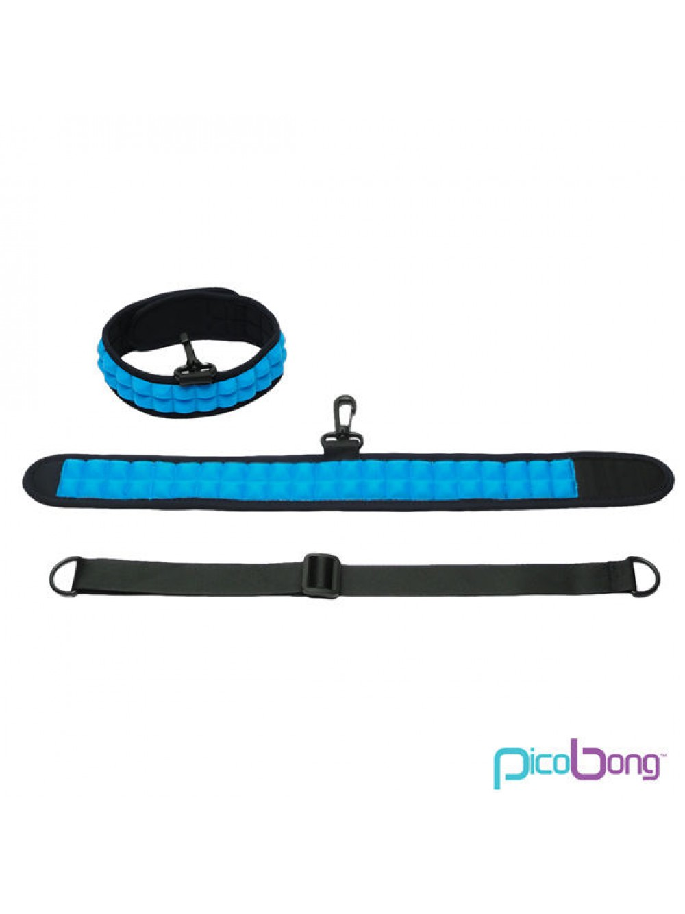PICOBONG SPEAK NO EVIL CHOKER BLUE