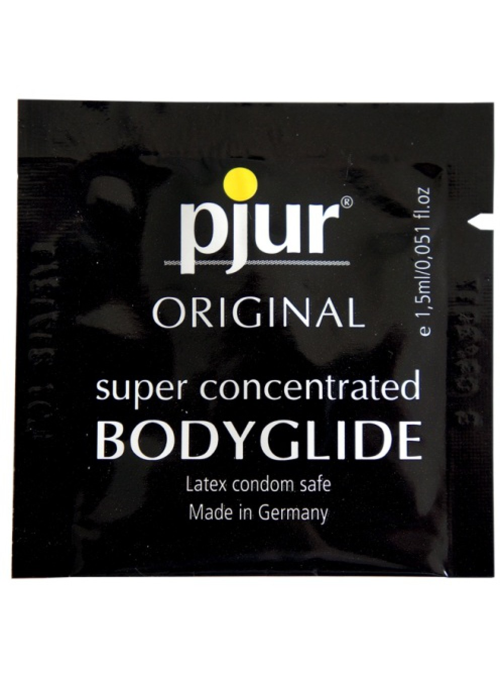 PJUR ORIGINAL BODYGLIDE SILICONE BASED LUBRICANT 1,5ML