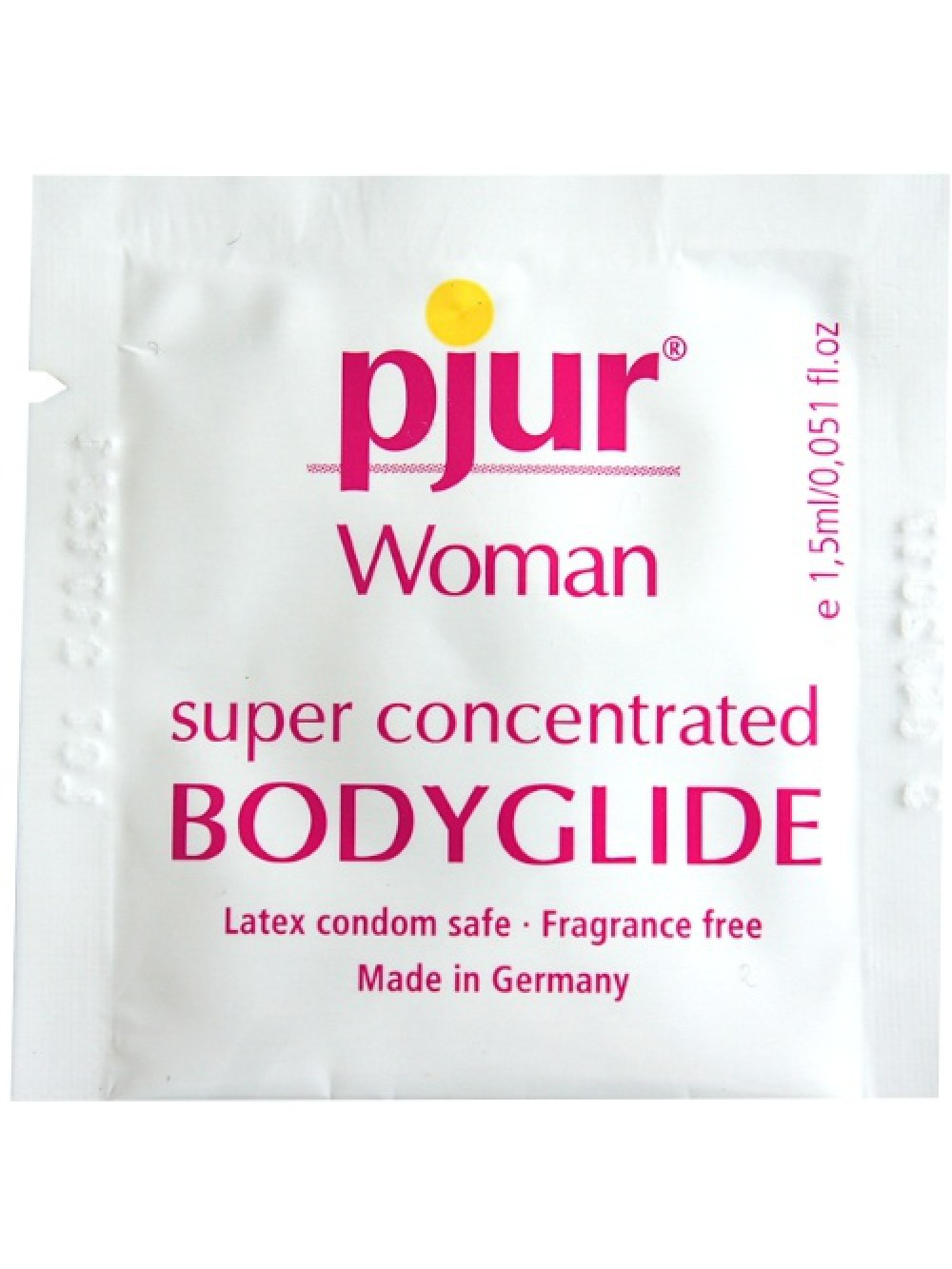 PJUR WOMAN BODY GLIDE SILICONE BASED LUBRICANT 1,5 ML