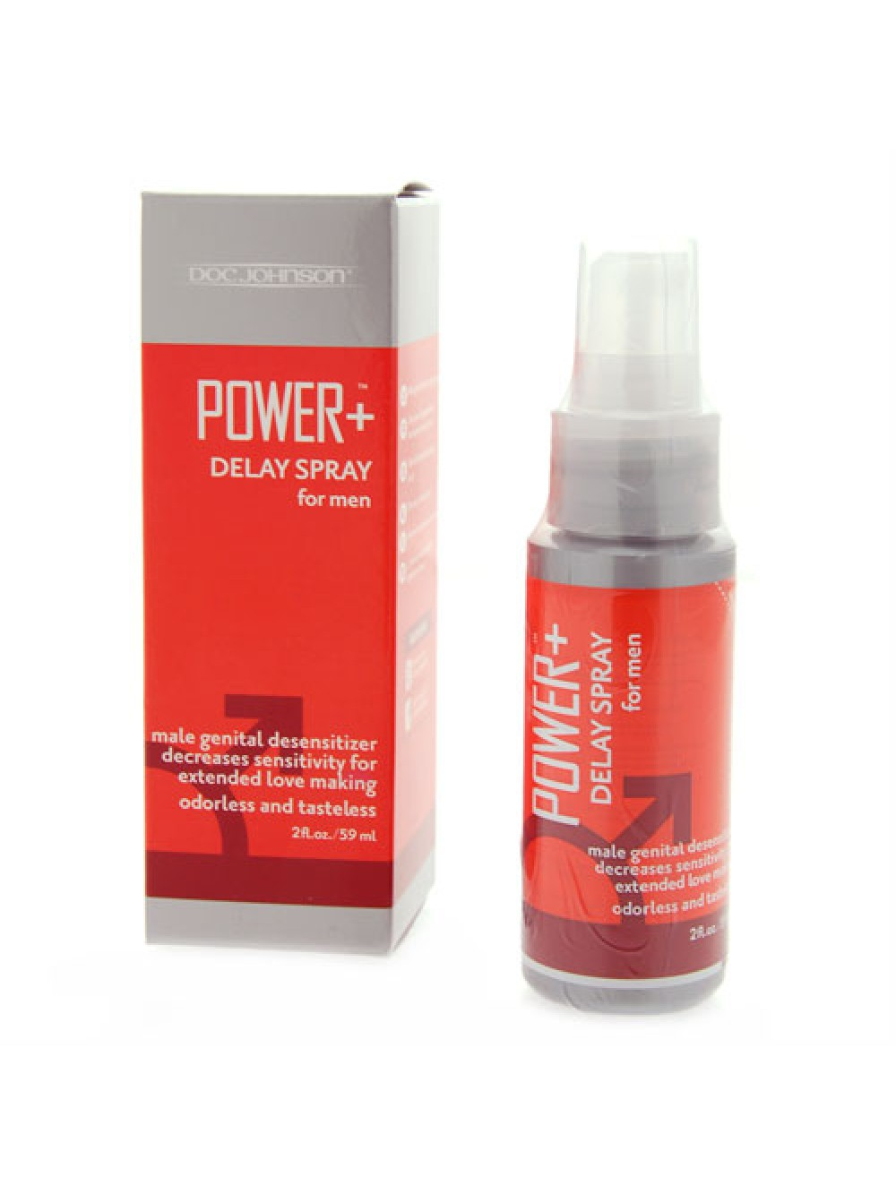 Power Plus Delay Spray For Men 2oz