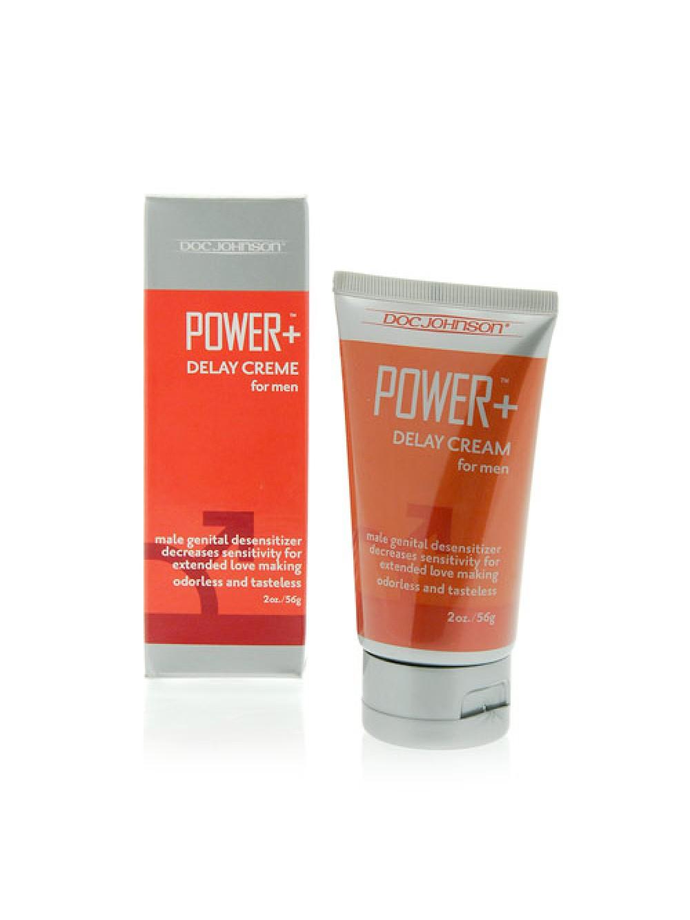 Power Plus Desensitising Cream