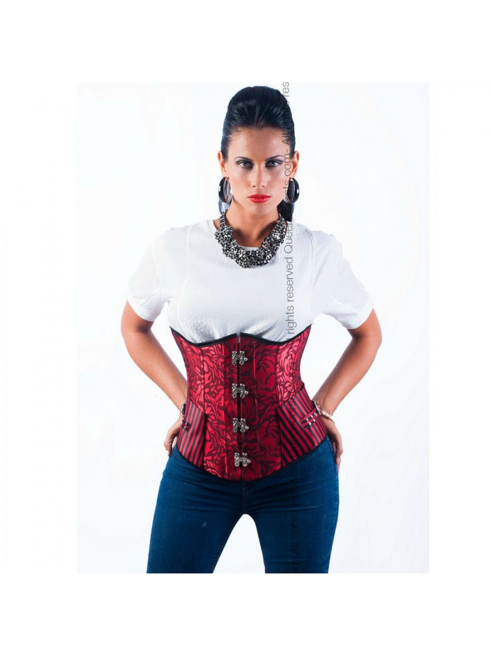 QUEEN CORSETS CORAL SIZE XL