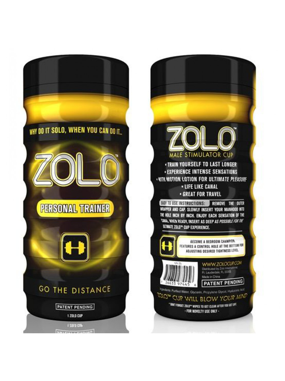 Personal Trainer Zolo Cup