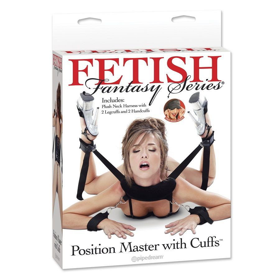 FETISH FANTASY POSITION MASTER WITH CUFFS 603912311860
