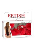 FETISH FANTASY FURRY CUFFS RED toy 603912105209